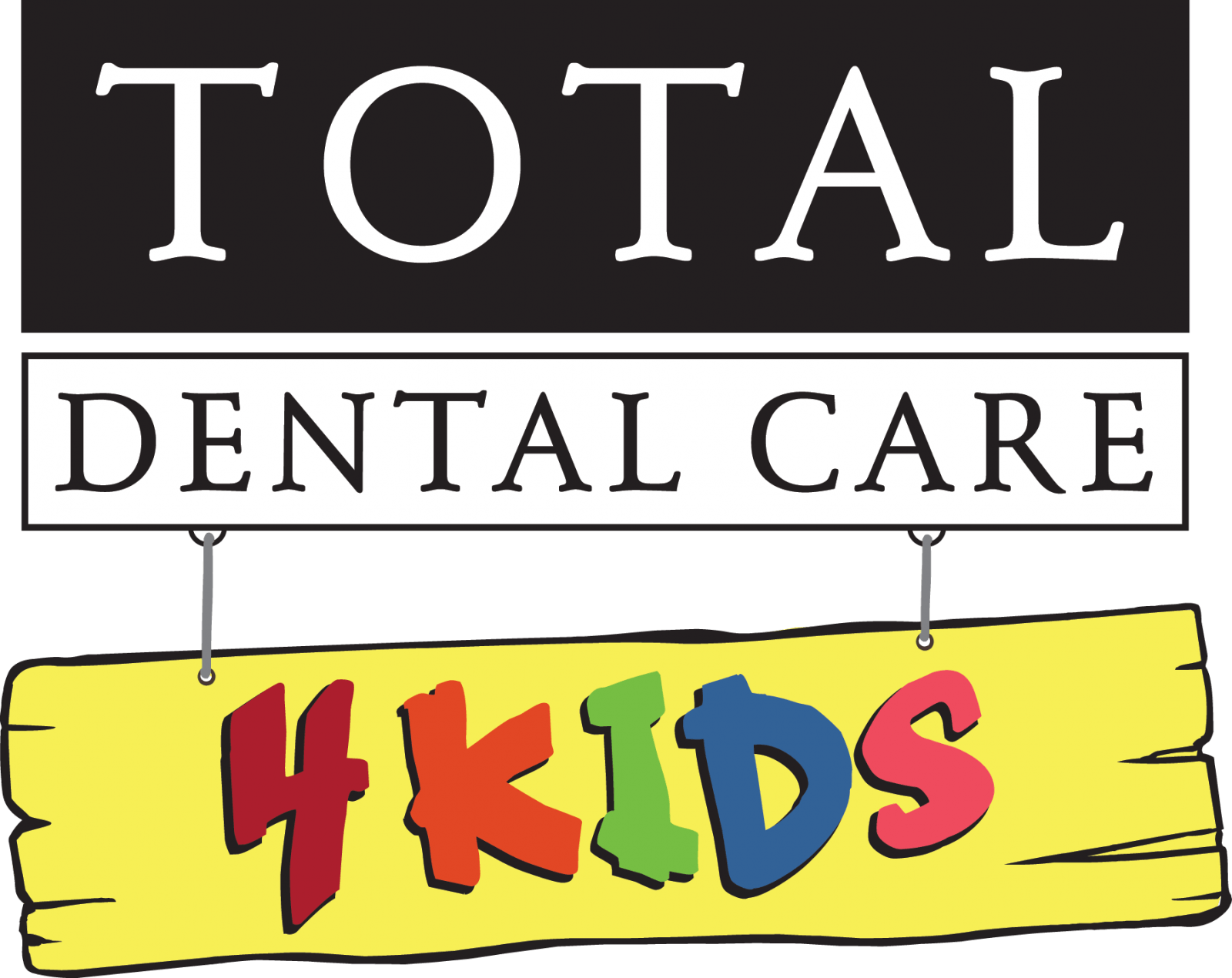 Total Dental Care - 4Kids Logo