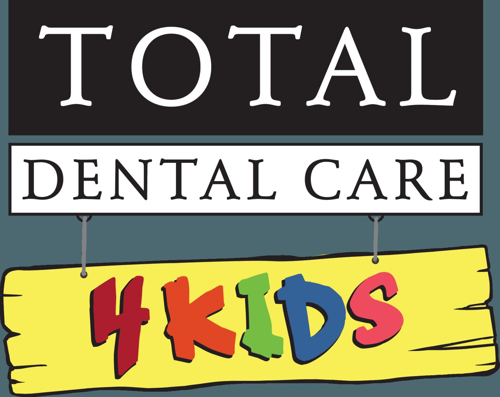 Total Dental Care - 4Kids Logo