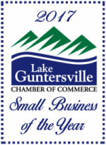 Lake Guntersville Small Business of the Year Badge