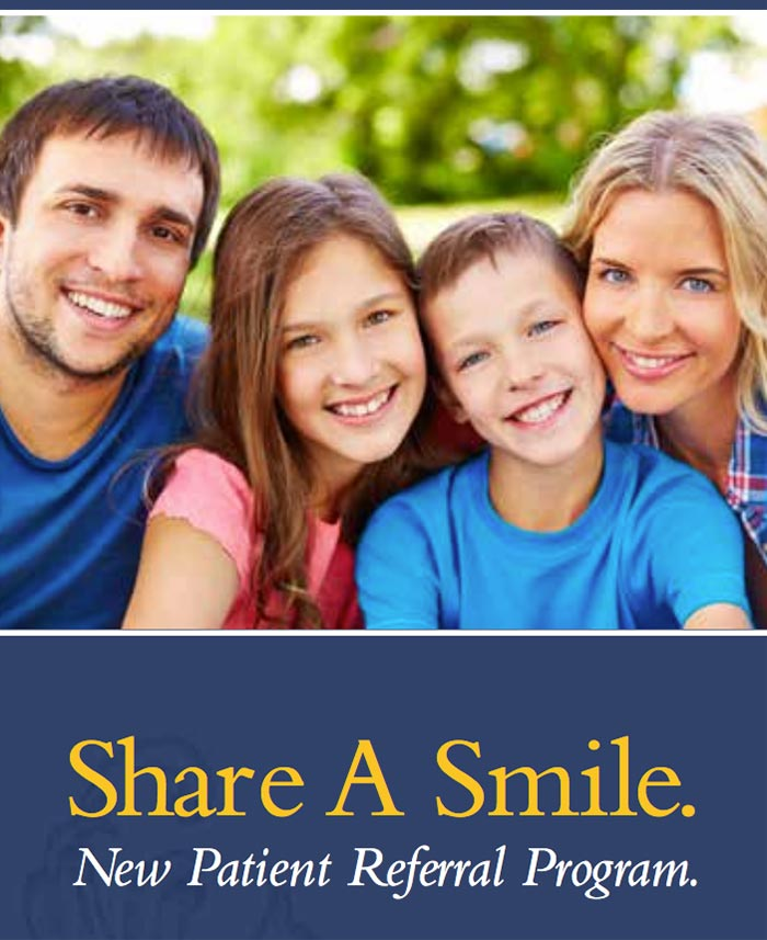 Total Dental Care - Share A Smile Referral Program