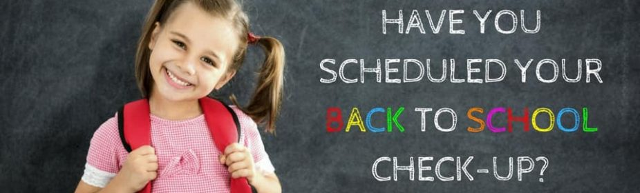 Back To School Dental Checkup