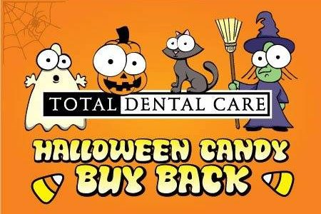 Total Dental Care-Halloween Candy Buy Back
